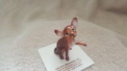 Hagen Renaker Dog Large Chihuahua Brown Figurine Miniature Free Shipping 10191 $11.25