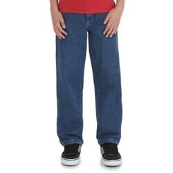 Rustler Boys Relaxed Slim Jeans Mid Shade Size 12 Slim NEW $13.91