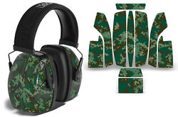 Sticker Wrap Decal Fits: Howard Leight Impact Noise Ear Shooting Muffs DIGICAMO $19.95