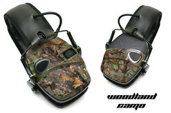 Sticker Wrap Decal Fits: Howard Leight Impact Noise Ear Shooting Muffs WOODCAMO $19.95