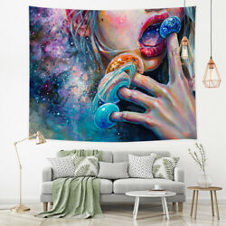 Abstract Art Tapestry Wall Hanging Wall Art Decor for Bedroom Living Room Dorm $20.23