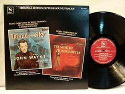 Island In The Sky & Song of Bernadette OST EMIL ALFRED NEWMAN 1982 Varese NM!