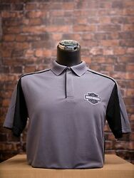Men#x27;s Tombstone HARLEY DAVIDSON Dealer Embroidered Polo $25.00