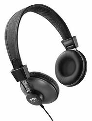 House of Marley Positive Vibration On Ear Headphones - Black