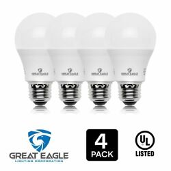 Great Eagle 100W Replacement A19 LED Bulb WarmSoft White 1500 Lumens 2700K $9.95