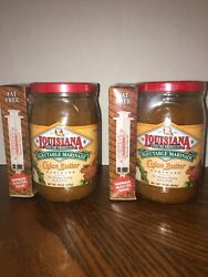LOT 2 Louisiana Cajun Butter Marinade W Injector Exp 052020 16 Oz Ea Original