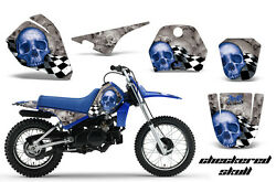 Dirt Bike Decal Graphic Kit Sticker Wrap For Yamaha PW80 PW 80 1996-2006 CS U S