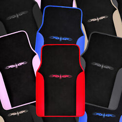 Car Floor Mats 4 Pieces Set Carpet Rubber Backing All Weather Protection $18.50