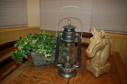 Dietz Oil Kerosene Lantern Old West Cowboy Style vintage but Never Used 12quot; tall $39.99