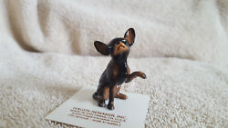 Hagen Renaker Dog Large Black Chihuahua Figurine Miniature Free Shipping 01019 $11.25