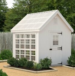 Little Cottage Company Colonial Gable 8 Ft. W x 12 Ft. D Greenhouse