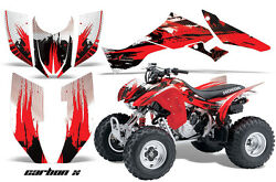 ATV Graphic Kit Quad Decal Wrap For Honda Sportrax TRX300EX 2007-2012 CARBONX R
