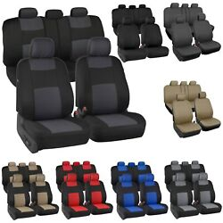 Auto Seat Covers for Car Truck SUV Van Universal Protectors Polyester 12 Color $26.59
