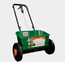 Scotts TURF BUILDER Classic Drop Plastic Push FERTILIZER SPREADER Lawn 76565 NEW $84.99