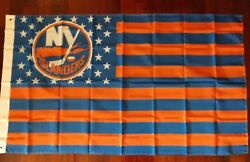 New York Islanders 3x5 American Flag. US seller. Free shipping within the US!!!