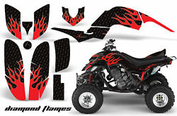 ATV Decal Graphic Kit Quad Sticker Wrap For Yamaha Raptor 660 2001-2005 DFLM R K