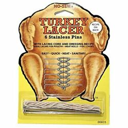 Stainless Steel No Sew Turkey Lacer Thanksgiving Holiday