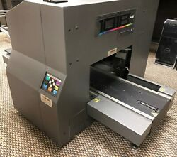 Direct Color Systems 1018 HS6 UV LED Flat Bed Printer DCS Direct Jet