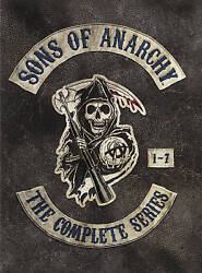 Sons of Anarchy: The Complete Series (DVD 2015) Seasons 1-7 1234567 (30-Disc)