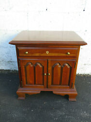 Solid Cherry Vintage Nightstand Side End Table 9674 $220.00
