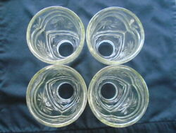 HAMPTON BAY CEILING FAN REPLACEMENT SHADES GLOBES CLEAR SUNBURSTS $35.00