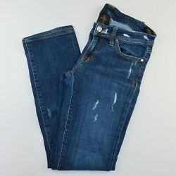 Genetic Denim The Liam Womens Jeans Size 27 Distressed (60)