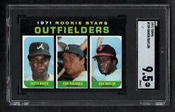 1971 TOPPS #709 DUSTY BAKER DON BAYLOR ROOKIE STARS SGC 9.5 MINT+ CENTERED POP 1