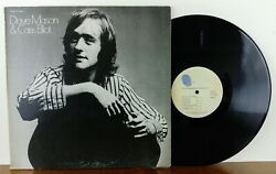 DAVE MASON CASS ELLIOT ST Self Titled LP 1971 Blue Thumb Records BTS-8825 MAMAS