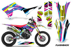 Decal Graphic Kit Sticker Wrap + # Plates For Honda CRF450X 2019+FLASHBACK