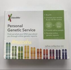 23andMe DNA Test Kit Ancestry Ethnicity Testing Gene Genetic READ Lab Fee Extra