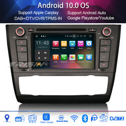 Car stereo Sat nav Android 9.0 for BMW 1 Series E81 E82 E88 WIFI+GPS 118i 120i