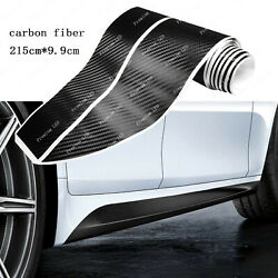 Sport M Colored Performance Carbon Fiber Side Skirt Sill Stripe Sticker For BMW