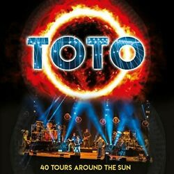 Toto - 40 Hours Around The Sun [New Vinyl] Colored Vinyl Orange UK - Import