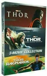 THOR 3-Movie Collection [DVD Box Set 2018] Complete Trilogy 1 2 3. Free shipping