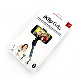 NEW! IK Multimedia iKlip Grip Multifunction iPhoneiPod Touch Camera Stand #3031