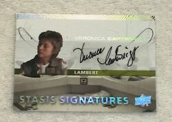Autograph Auto Trading Card SSS4 Lambert  2017 Upper Deck Alien Movie Cartwright