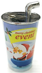 HHB Collectible Novelty Christmas Cup Design Windproof Refillable Lighter 1755 $8.59