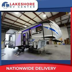 SAVE OVER 20 GRAND ON THIS ARCTIC WOLF 285DRL4 FIFTH WHEEL RV CALL TODAY
