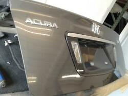 2004-2008 ACURA TL TRUNK LID LICENSE PLATE TRIM PANEL USED