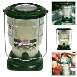 Coleman Citronella Candle Outdoor Lantern Camping 70+ Hours Mosquitoes Repel