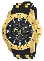 Invicta 24965 Men's 'Pro Diver' Quartz Gold-Tone and Stainless Steel  Watch $81.69