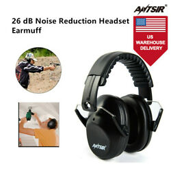 ANTSIR Noise Reduction SOUNDPROOF Ear Muffs NRR 26dB Hearing Protection Ear