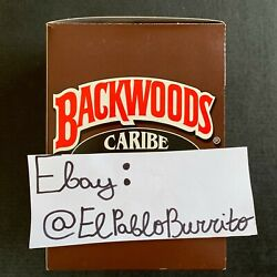 Backwoods Caribe (Wild rum) Exotic Rare Box of 8 Packs (5pcs. a pack) papers