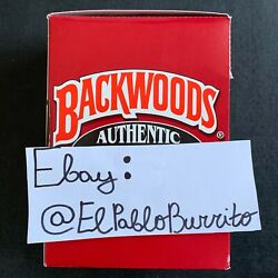 Backwoods Authentic (Sweet Aromatic) Exotic Rare Box of 8 Packs (5pcs. a pack)