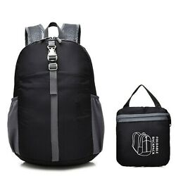 Lightweight Foldable Waterproof Sports Backpack Travel Hiking Packable Daypack $9.98