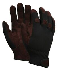 MCR 920 Multi Task Gloves Brown leather Palm and Fingertips 1 Pair $9.20