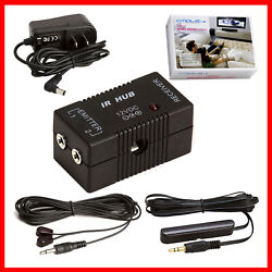 IR Extender Compact Infrared Repeater Kit System IR Emitters