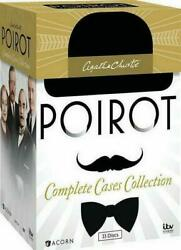 AGATHA CHRISTIE'S POIROT the Complete Cases Collection 33 DVD Series Box Set