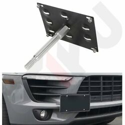 FOR 15-19 SUBARU FORESTER WRX STI BUMPER TOW HOOK LICENSE PLATE MOUNT BRACKET $15.59