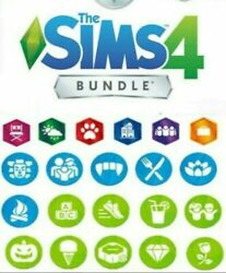 The Sims 4 + 12 DLC Collection PCMACDownloadable account Multilanguage